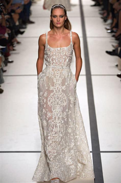 dreamy elie saab wedding dress inspirations   bride