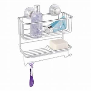 Cuisine maison accessoires de salle de bain trouver for Etagere porte savon pour douche