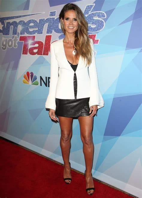 Heidi Klum Styles Hot Outfits With Giuseppe Zanotti
