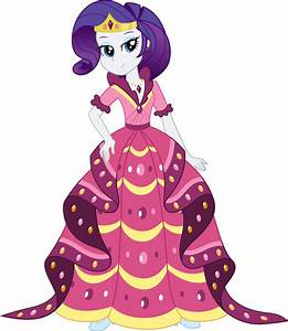 EQG Gala - Rarity by icantunloveyou on DeviantArt