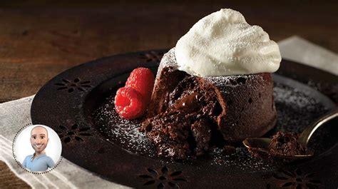 plat simple à cuisiner moelleux au chocolat de stefano faita recettes iga