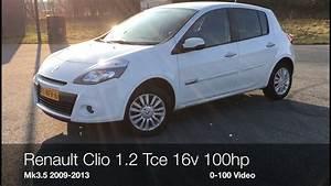 Renault Clio 3 Tce : renault clio iii 1 2 tce 16v 100hp 0 100 km h youtube ~ Melissatoandfro.com Idées de Décoration