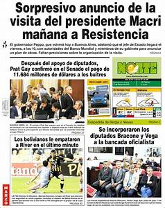 Peri U00f3dico Diario Norte  Argentina   Peri U00f3dicos De Argentina  Edici U00f3n De Jueves  17 De Marzo De