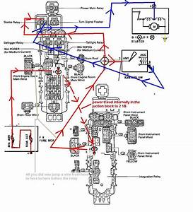 92 Toyota Corolla Ignition Switch Wiring Diagram