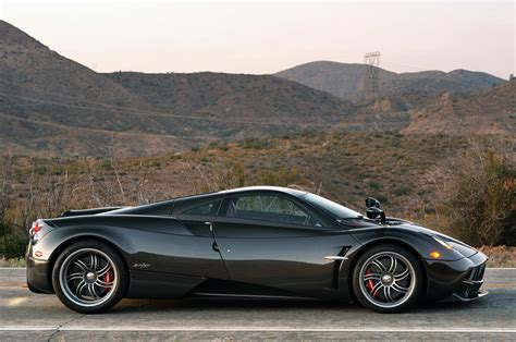 pagani huayra carbon edition side view - SSsupersports
