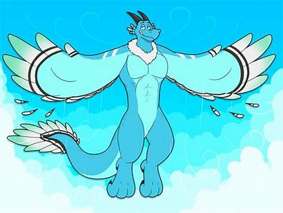Kitsunekit Dragon Air Elemental Weasyl