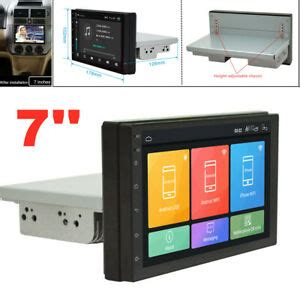 7'' 1Din Android 9.1 Quad-Core WIFI 1G+16G Car Stereo ...