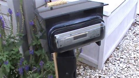 outdoor pool radio