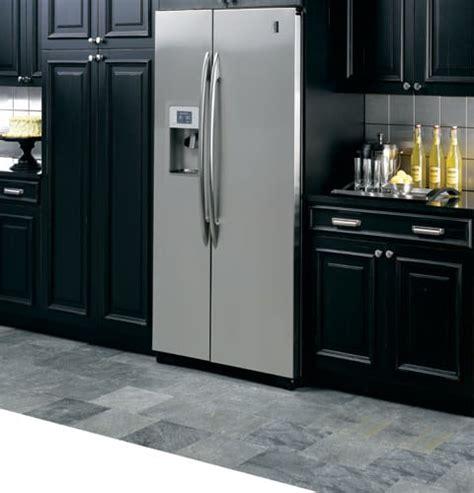 ge side by refrigerator leaking water on floor best