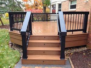 Great ideas for small deck for Backyard deck designs plans