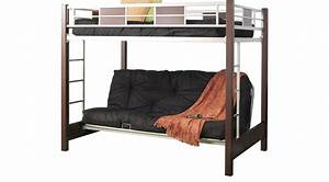 Ivy League Cherry 4 Pc Full  Futon Loft Bed  Futon