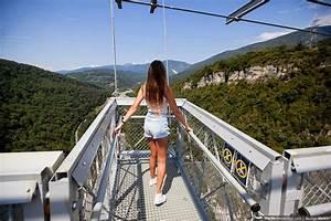 Longest Pedestrian Suspension Bridge - Sochi Skypark