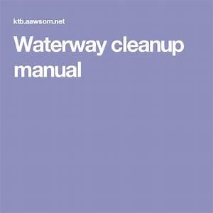 Waterway Cleanup Manual