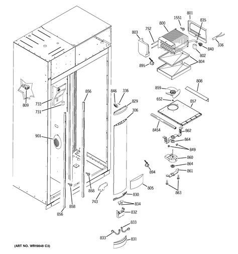 ge zisbdri side  side refrigerator parts sears