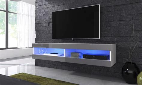 zwevend tv meubel groupon