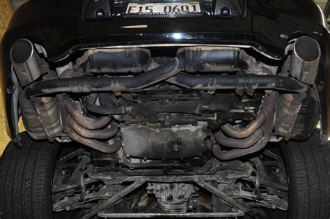 engine 911 bay carrera porsche 996 exhaust bypass 2001 muffler body modification under rust rear cheap headers pipes horsepower fisker