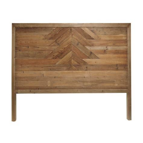 tete de lit bois recycle maison design goflah