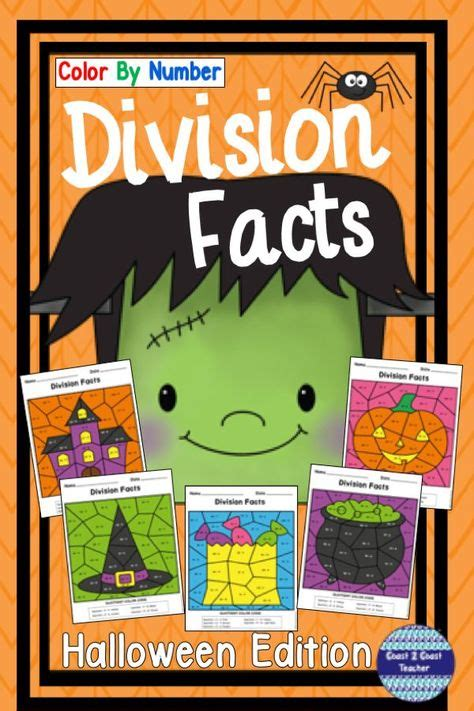 halloween division color  number  images