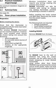 Riello S P A 20142445 Ricloud Na Wifi Thermostat User Manual
