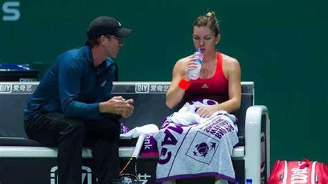 Simona Halep, fără Darren Cahill la Wuhan Open