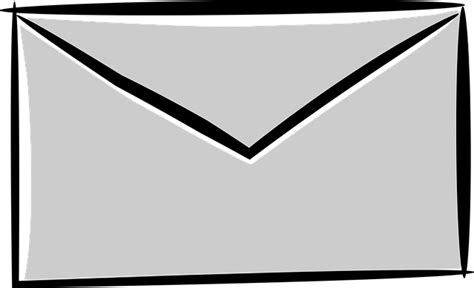 Cartoon E-mail Envelope · Free Vector Graphic On Pixabay