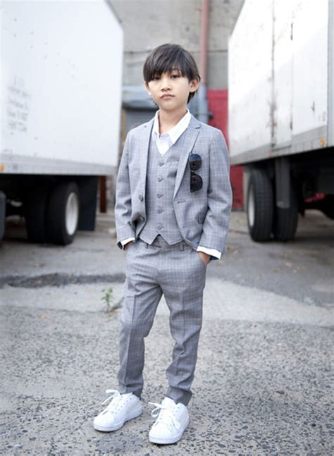 Boys look cool in suits