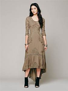 free people mexican wedding dress in green lyst With free people mexican wedding dress