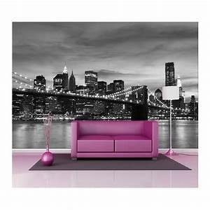 Papier Peint Geant : papier peint g ant d co pont de brooklyn 250x360cm art ~ Premium-room.com Idées de Décoration