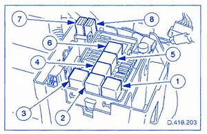 Jaguar Xj8 4 0 2001 Fuse Box  Block Circuit Breaker Diagram