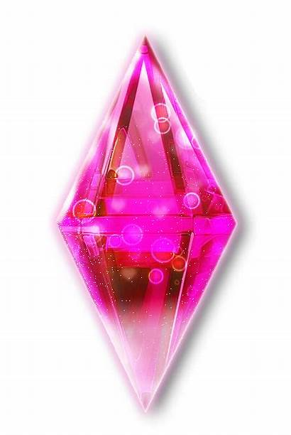 Sims Transparent Plumbob Icon Magenta Hq Bubbly