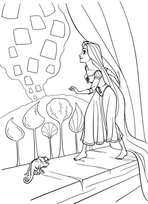 Free Coloring Page Rapunzel Coloring Pages Best Coloring Pages For Kids