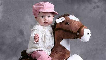 Wallpapers Pink Toy Horse Background Sitting Wearing