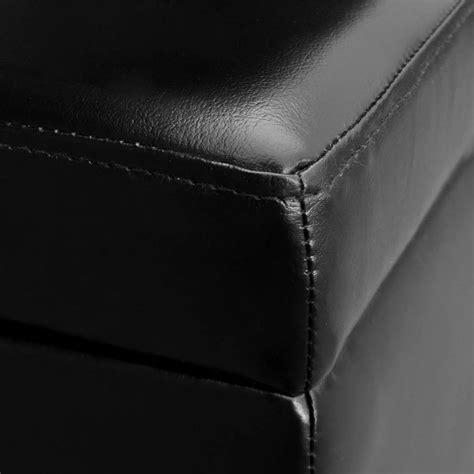banc noir la boutique en ligne banc de rangement en bois noir
