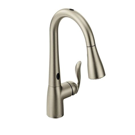 touchless kitchen faucets shop moen arbor with motionsense spot resist stainless 1