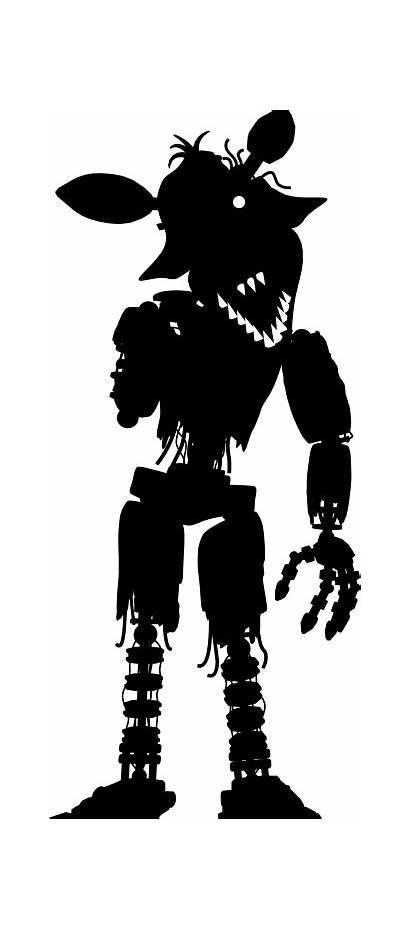 Foxy Phantom Fnaf Freddy Nights Five Withered