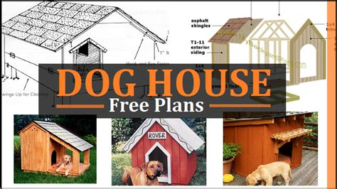 dog house plans  diy projects construct