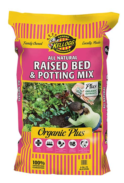 Kellogg Garden by All Raised Bed Potting Mix Kellogg Garden Products
