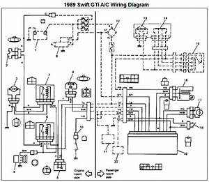 Suzuki Swift Headlight Wiring Diagram