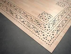 Tapis En Vinyle : tapis de bois ou vinyle par arzu firuz blog esprit design ~ Teatrodelosmanantiales.com Idées de Décoration