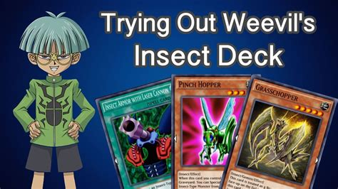 yugioh duel links best deck insect deck youtube