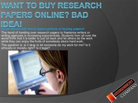 Can You Buy Research Papers Online