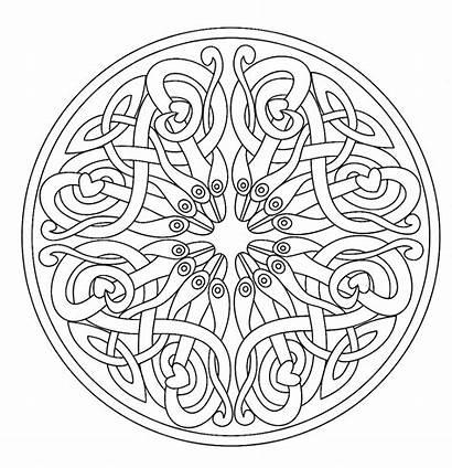 Mandala Coloring Adult Pages Mandalas Adults