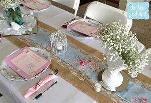 A shabby chic bridal shower part 1 the blue eyed dove for Shabby chic table decorations