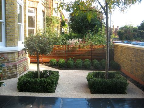 London Townhouse Front Gardens