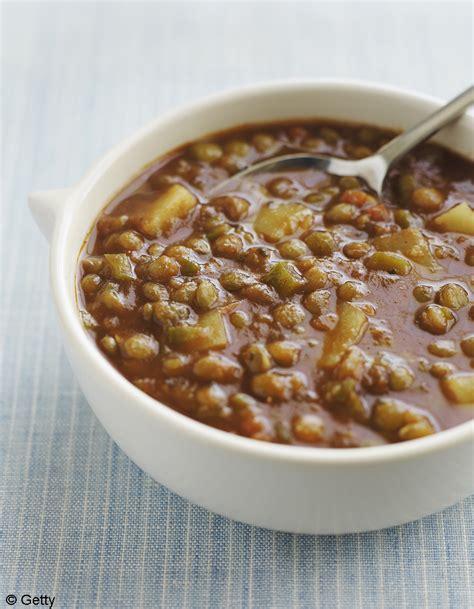 recette cuisine 3 soupe de lentilles à la coriandre et au citron pour 4 personnes recettes à table