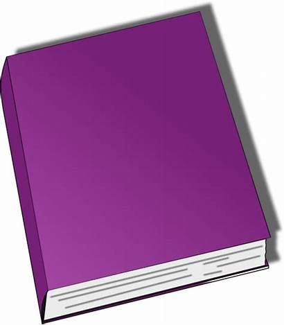 Closed Clipart Clip Vector Purple Books Clipartpanda