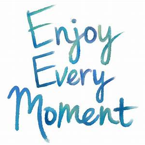 WallPOPs 17 25 in x 19 5 in Enjoy Every Moment Wall
