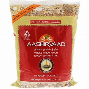 Buy Aashirvaad Whole Wheat Flour 5 Kg Online in UAE, Abu ...