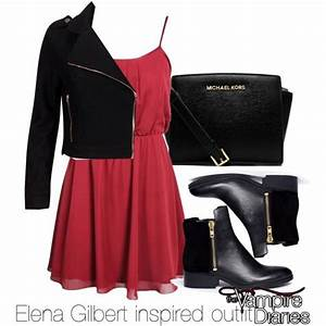 Elena Gilbert inspired outfit/The Vampire Diaries | Nagelschere Mode und Kleidung