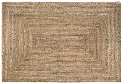 tapis fibre naturelle tapis design rond en fibre